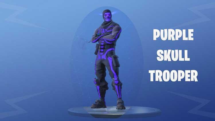 Purple Skull Trooper