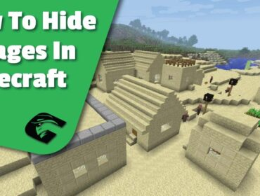 Hide A village In Minecraft easily