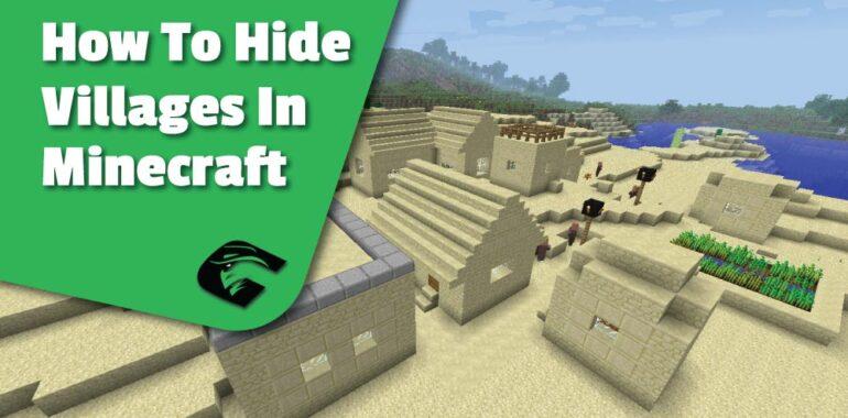 Hide A village In Minecraft easily