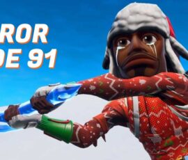 Fortnite Error code 91 fix