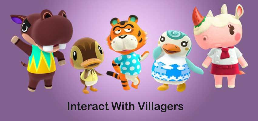 Interact With Villagers