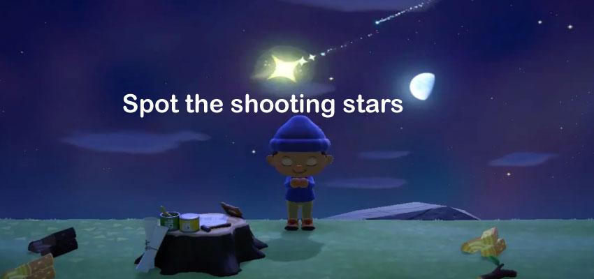 Spot The Shooting Star