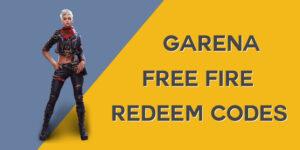 Garena Free Fire redeem Codes New