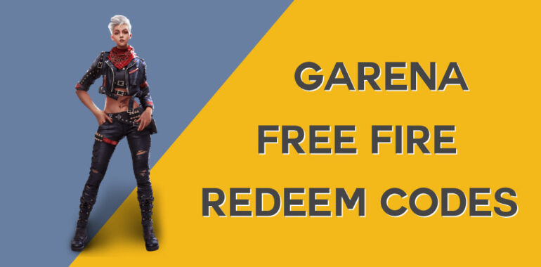 Garena Free Fire redeem Codes New