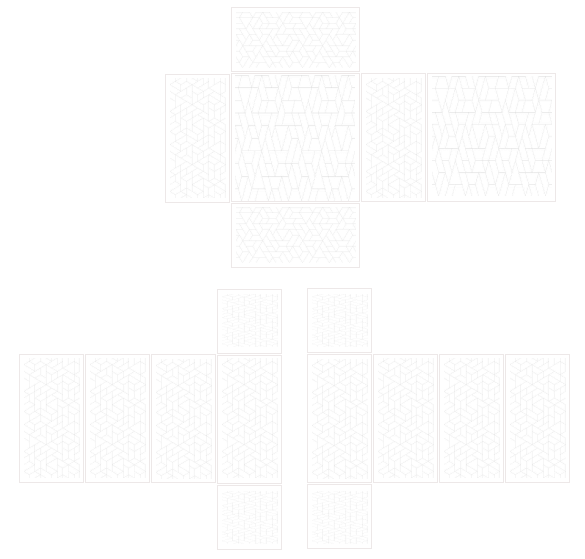 Template with texture